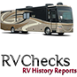 RvChecks RV history reports logo with RV.